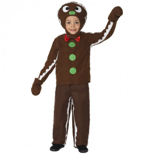 Gingerbread man kerstkleding kind