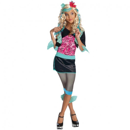 Monster High Lagoona Blue kostuum kind