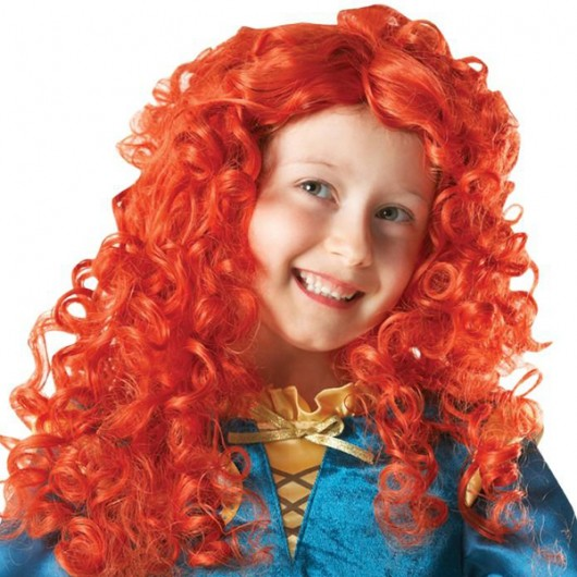 Prinses Merida pruik kind