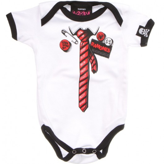 Ramones all dressed up romper