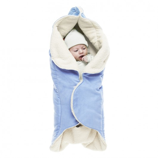 Wallaboo wrapper nore soft blue