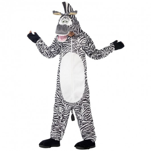 Zebra Marty jumpsuit kostuum kind