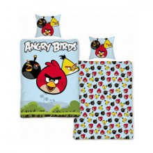 Angry Birds trio kinder dekbedovertrek