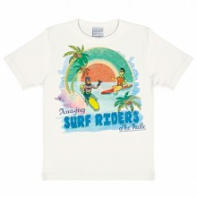 Batman Robin surfing kinder shirt