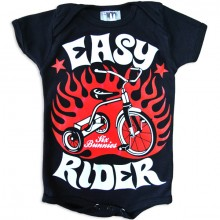Easy rider Six Bunnies baby romper