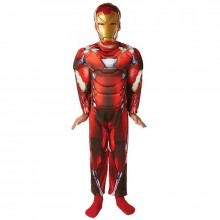 Iron man deluxe kostuum kind