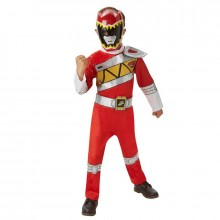 Power Ranger Dino charge rood deluxe kostuum kind