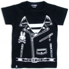 Rocker jacket Six Bunnies kinder t-shirt