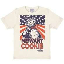 Sesamstraat Koekiemonster cookie kinder shirt