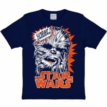 Star Wars Chewbacca kinder shirt navy