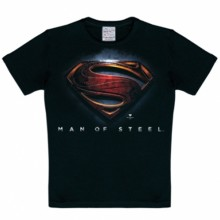 Superman men of steel kinder t-shirt