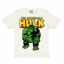 The Incredible Hulk Marvel Comics Logoshirt kinder t-shirt wit