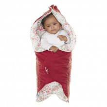 Wallaboo wrapper leaf warm rood